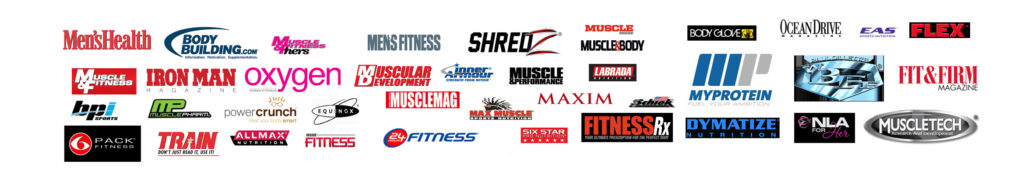 Jason Ellis Photography - fitness photoshoot client list