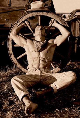 Cowboy Photography Image