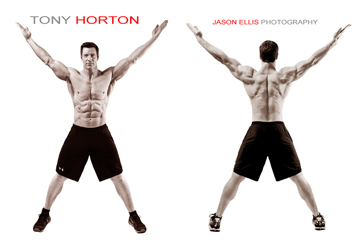 Jason Ellis Photography Tony Horton Photo Shoot Image