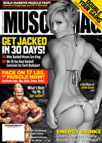 Muscle Magazine Cover