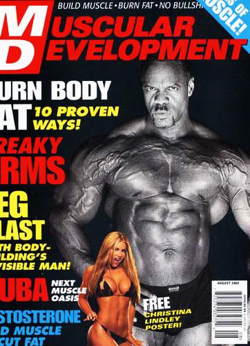 Muscular Devlopment Cover