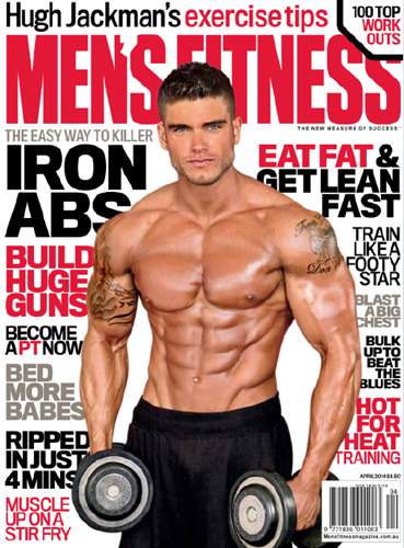 Mens- fitness Cover